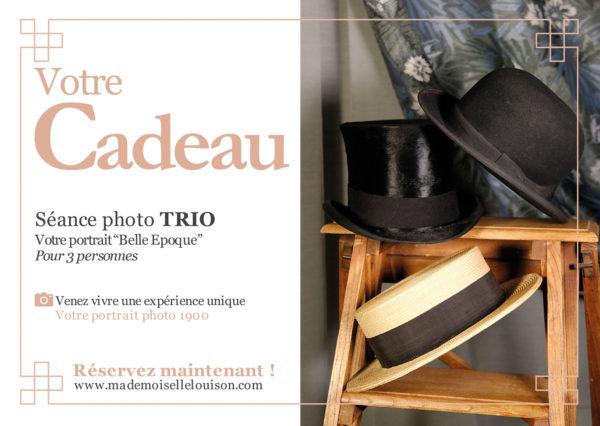cadeau photo studio rétro paris vintage