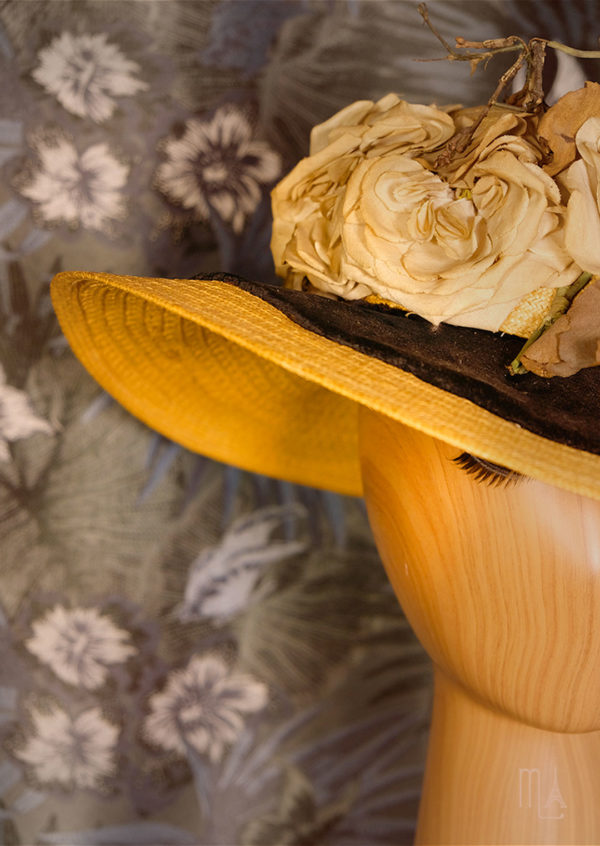 photo rétro chapeau élégante mode parisienne belle époque