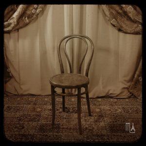 chaise studio photo rétro paris
