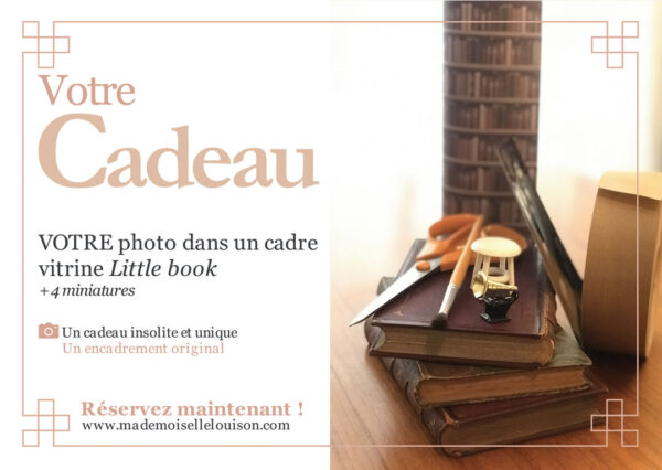 personalised antique book with photo