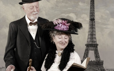 Relive the Paris 1900 during a photo session