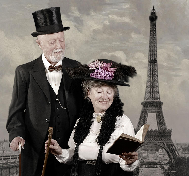 Paris 1900 historical reconstruction